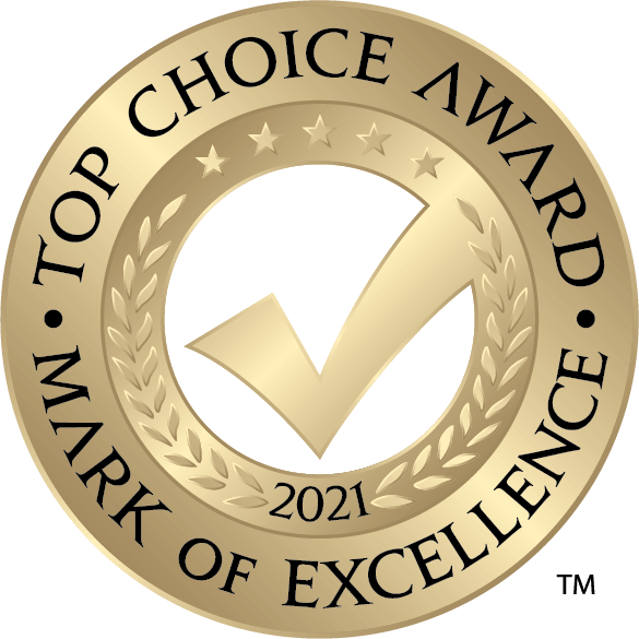 Top Choice Award 2021 | Mark of Excellence